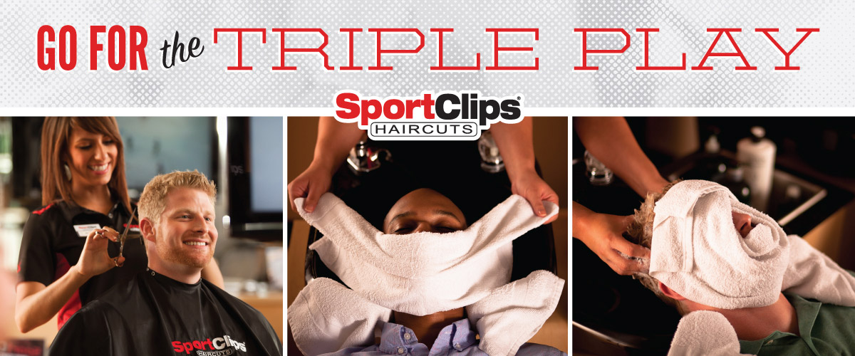 The Sport Clips Haircuts of Lake Forest Triple Play